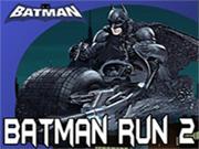 Motorsikletli Batman Yarışta